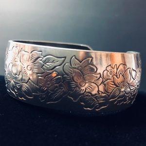 Jewelry - KIRK STIEFF Pewter Cuff Bracelet